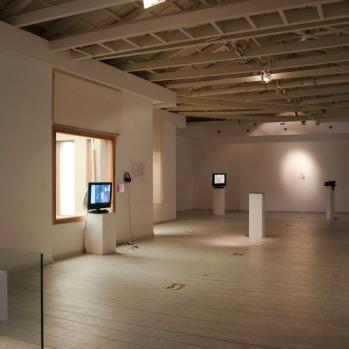 thesis @ metamatic taf | photo by marios gampierakis | Molleindustria: a selection of games |general view