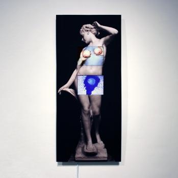 "title:Tidal Wave year:2012 medium: digital video, giclee print size: 20.5""x 45"""