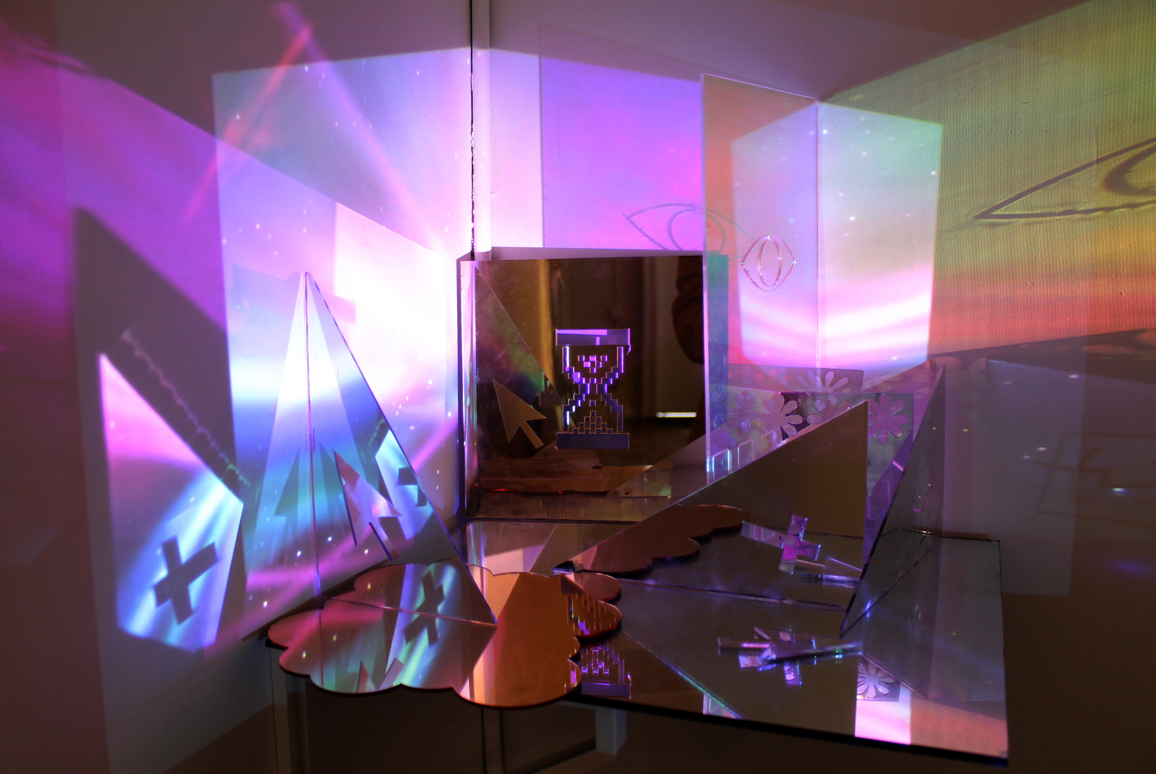 Create an accident for Mirror projector