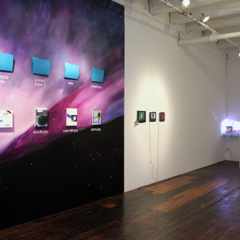 Install shot from the show Truisms at Transfer Gallery, March 2013 year: 2013